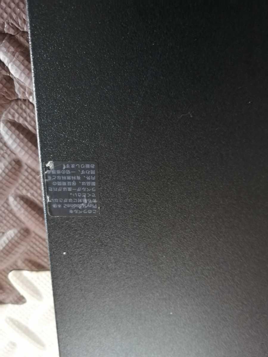良品 SONY PS2 PlayStation2 プレステ2 本体1式 SCPH-77000 薄型 動作確認済 黒 即決 _画像4