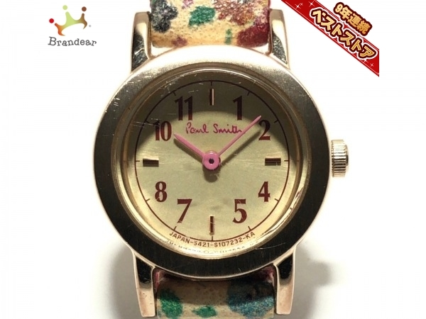 PaulSmith(ポールスミス) 腕時計 - 5421-S073871 レディース ゴールド