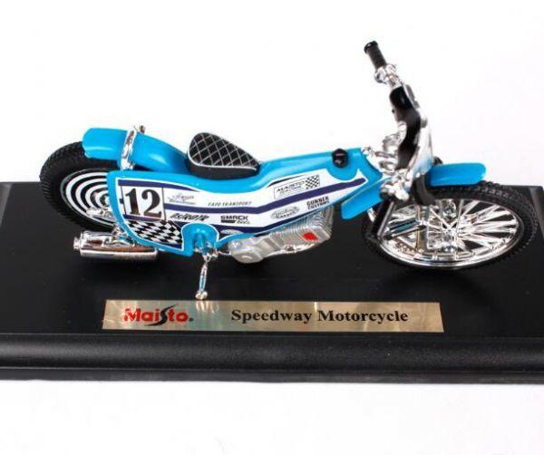 マイスト Maisto 1/18 完成品バイク Speedway Motorcycle_画像2