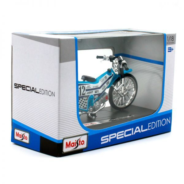マイスト Maisto 1/18 完成品バイク Speedway Motorcycle_画像3