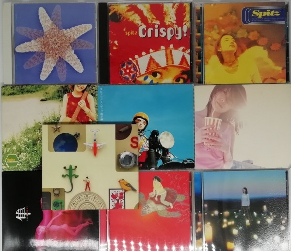 【スピッツ】 まとめて 10枚セット CD アルバム  草野マサムネ/ 三輪テツヤ/田村明浩/ 﨑山龍男_画像1