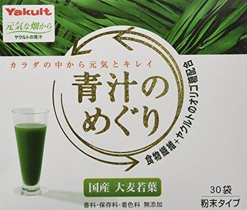 飲みやすい 国産 青汁 30袋入り 粉末タイプ 健康補助食品 美容 大麦若葉 鉄分 香料・保存料・着色料無添加 野菜不足_画像1