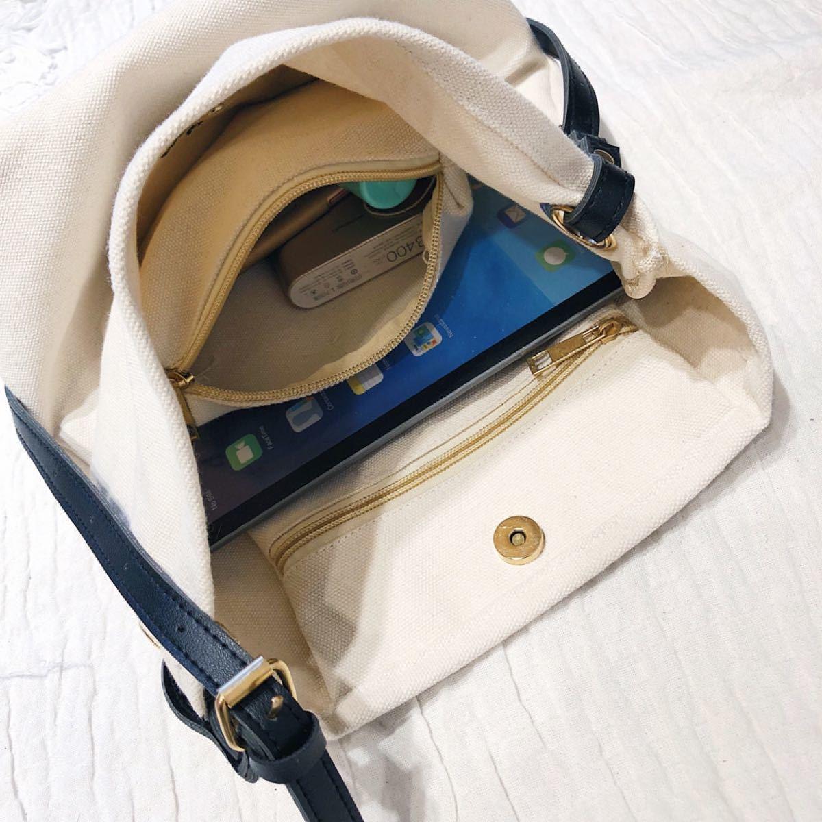 トートバッグ 帆布 ショルダーバッグ キャンバスバッグ エコバッグ 韓国