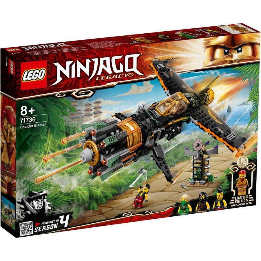 新品未開封 LEGO 71736 レゴ ニンジャゴー リボルバーブラスター NINJAGO Legacy Boulder Blaster ロイド ゴールデン カイ コール SEASON 4_商品見本