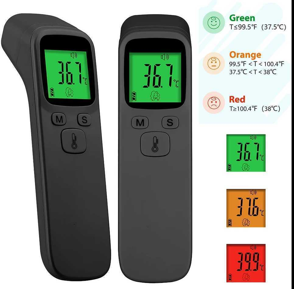 デジタル体温計 非接触型体温計 1秒検温 高精度 赤外線額温度計 額非接触式体温計 電子体温 赤ちゃん 大人