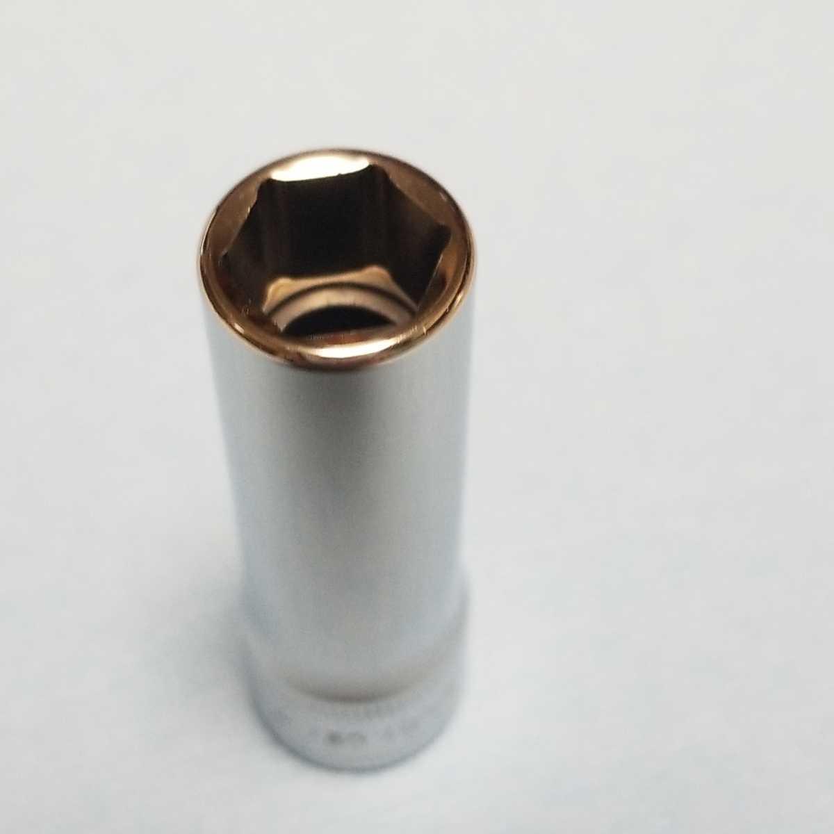 11mm 3/8 ディープ スナップオン SFSM11 (6角) 中古品 超美品 保管品 SNAPON SNAP-ON ディープソケット ソケット 送料無料 Snap-on _画像3