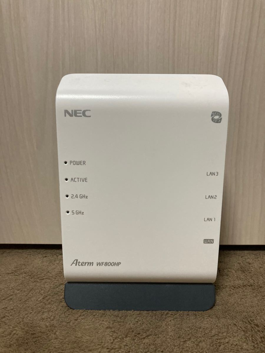 無線LANルーター NEC Aterm WF800HP