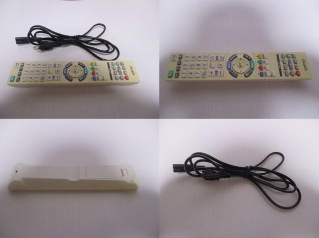 ☆送料込☆ 外付(USB)HDD対応 ソルテオ SORTEO 19型 液晶テレビ MU19-1 地デジ/BS/CS 純リモ付 中古 2013年製 (7) 1台有 (1ヶ月動作保証付)_画像10