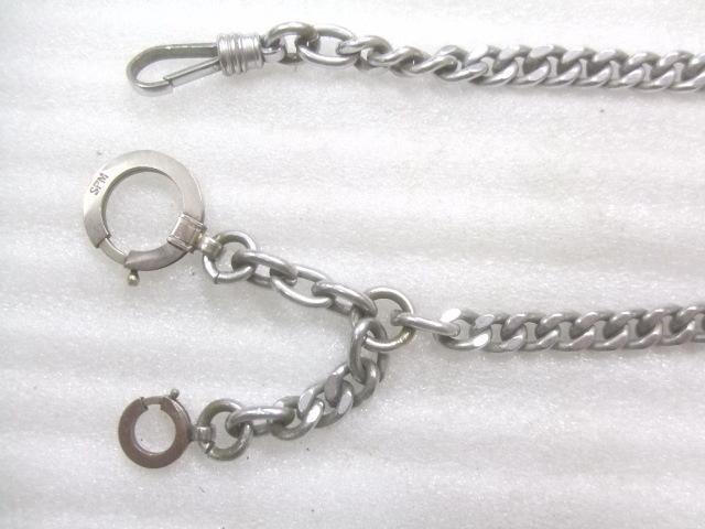 アンティーク懐中時計用鎖(クサリ)3本セット K855_画像3
