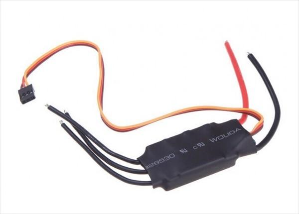 【新品】 Emax Simonk 20A ブラシレスモーター スピードコントローラー ESC 黒_画像3