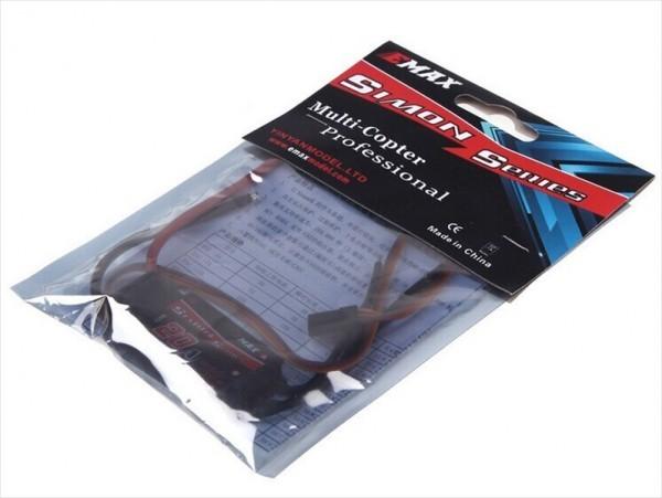 【新品】 Emax Simonk 20A ブラシレスモーター スピードコントローラー ESC 黒_画像2