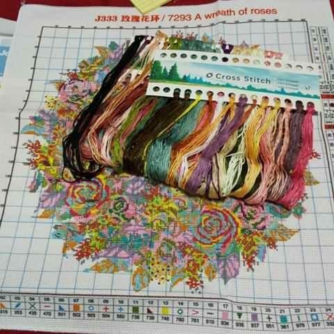 クロスステッチ刺繍キット(J333)