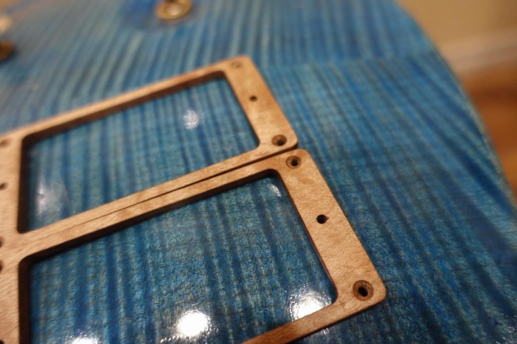 メイプル 木製 エスカッション セット 汎用タイプ Y62 高級天然オイル仕上げ_画像6