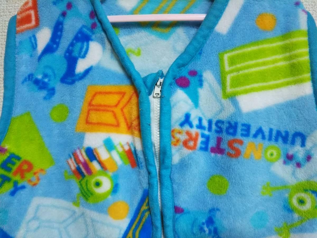 ☆子供用かいまき/スリーパー/着る毛布 3~5歳用 青☆_画像2