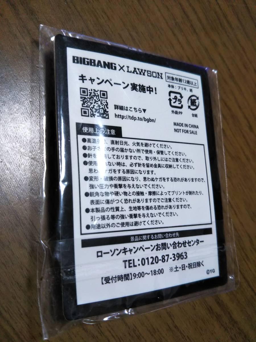 ☆KRUNK BIGBANGxLAWSON D-LITE 缶バッヂ 新品未使用品☆_画像2