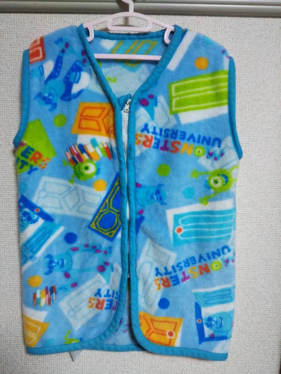 ☆子供用かいまき/スリーパー/着る毛布 3~5歳用 青☆_画像1