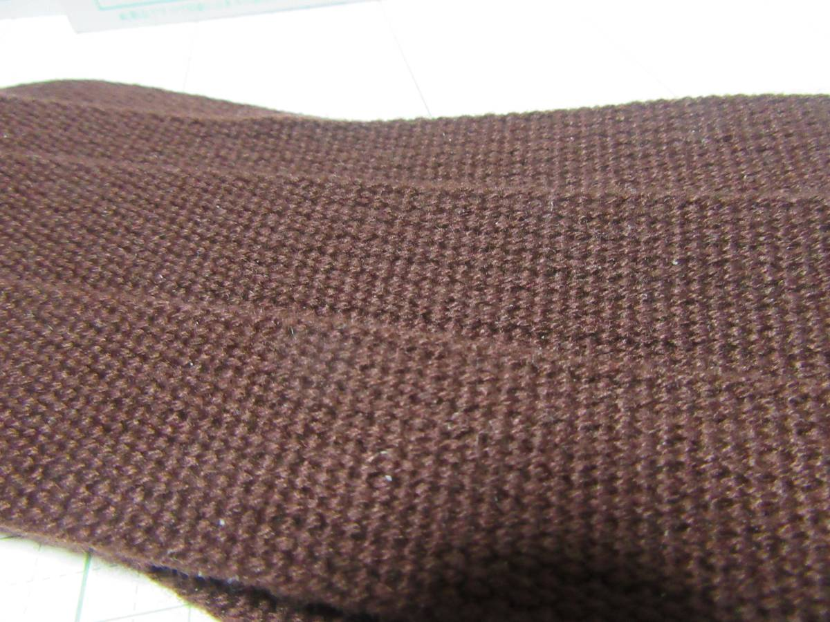 ◆ 布ひも 平紐 コード ヒモ◆茶色 巾2.5cm 長さ2.6m 厚さ2mm  布紐 ロープ リボン ハギレ 端切れ 自宅保管商品875_画像3