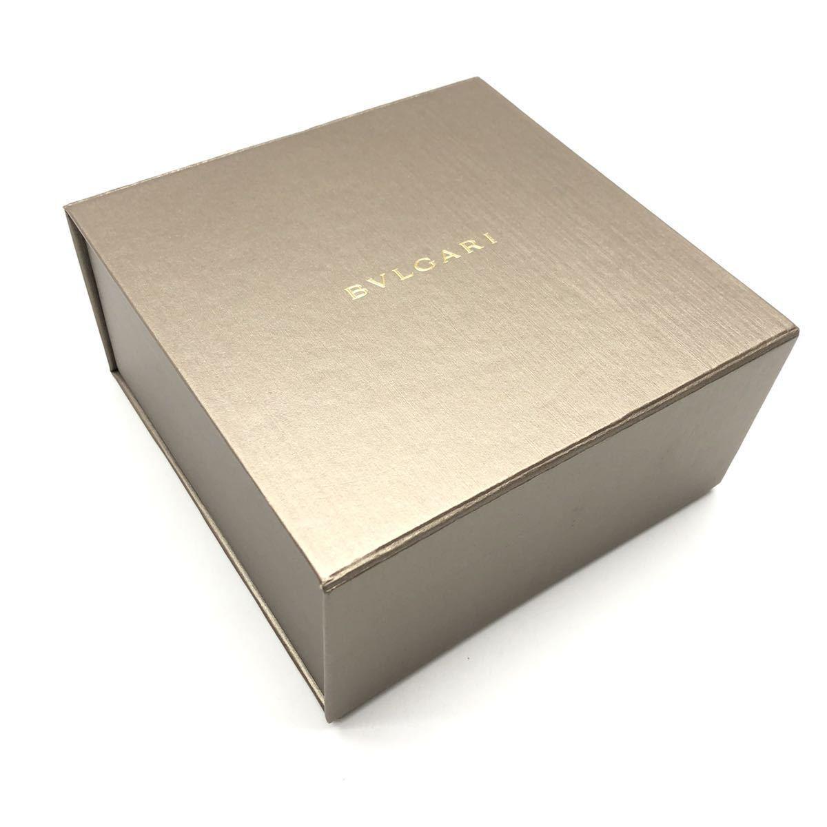 BVLGARI ブルガリ 空箱 ボックス BOX マルチケース 展示備品 付属品 リボン ブランド 管理RY-68