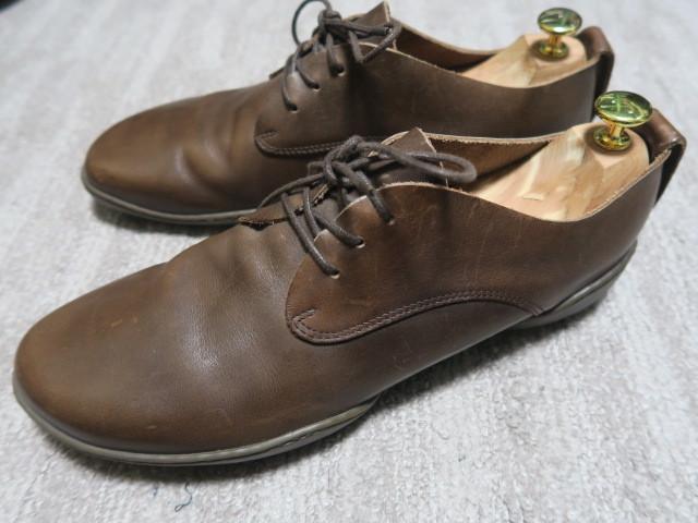 5万★素足のような感覚 最高級レザー使用 美品 [trippen] Pot m トリッペン ポット EU43 27.5~28.0cm 革靴【cup】コレクション_画像1