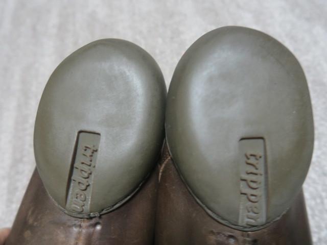 5万★素足のような感覚 最高級レザー使用 美品 [trippen] Pot m トリッペン ポット EU43 27.5~28.0cm 革靴【cup】コレクション_画像6