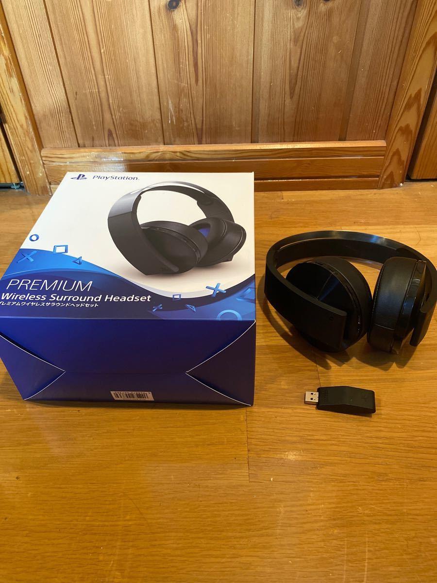 PS4 プレミアワイヤレスサラウンドヘッドセット CUHJ-15005