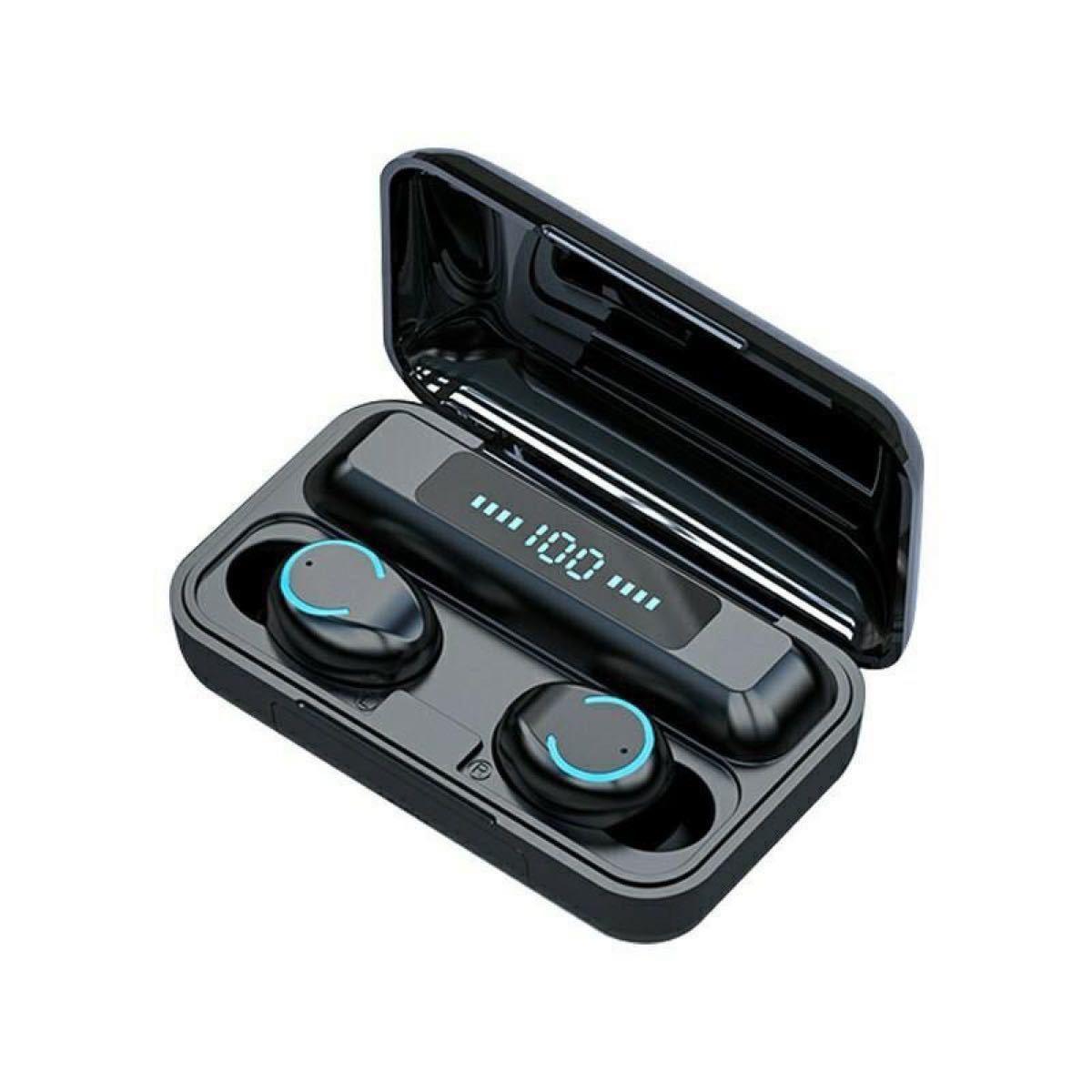 ワイヤレスイヤホン Bluetooth 高音質 イヤフォン モバイルバッテリー AirPods  ペアリング 自動