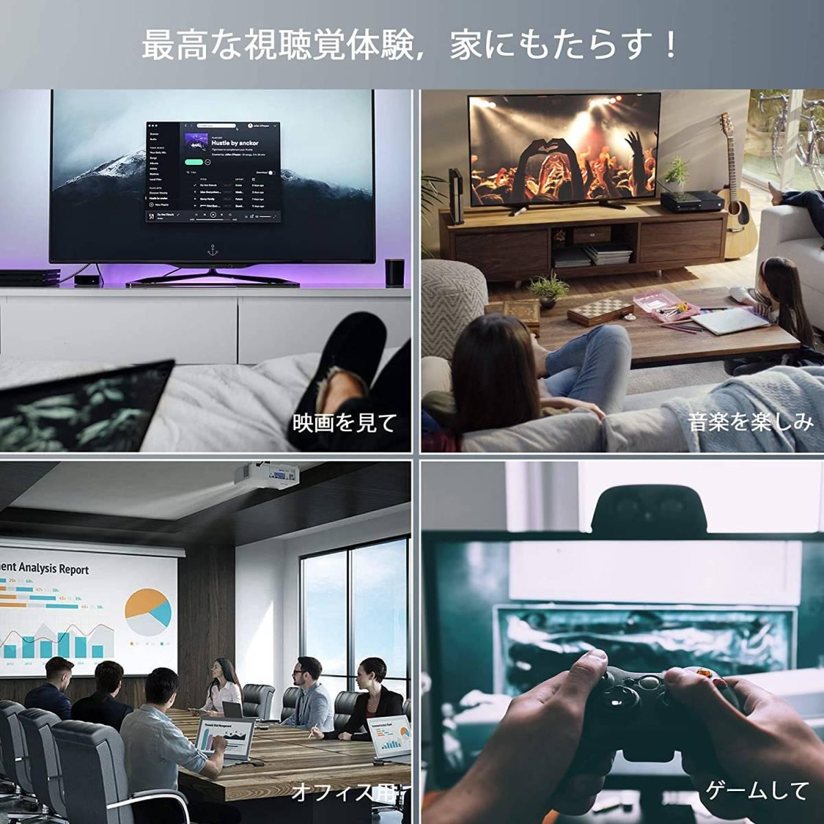 送料無料! HDMIケーブル 13 8K 48Gbps ハイスピード 1.8m hdmi 2.1 Cable 規格 8k@60Hz 3D HDR PS5 PS4 PS3 Switch Fire TV Apple TV対応