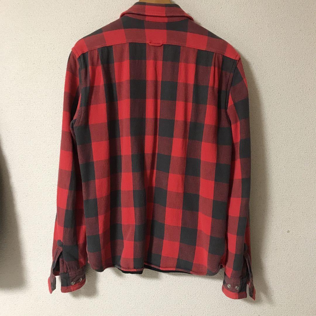 ポロジーンズネルシャツ チェックシャツ CPO