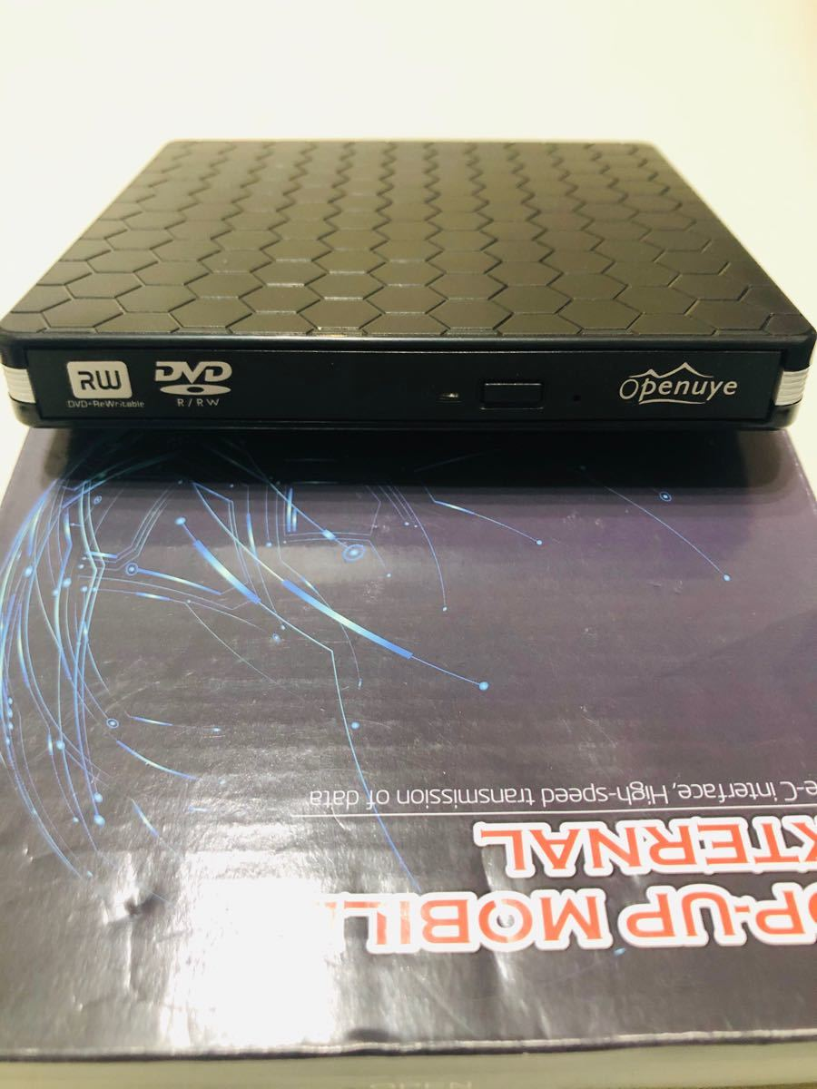 2020最新型】Effelon USB3.0 Type-C 外付け DVD/CDドライブ DVD プレイヤー ポータブル 高速