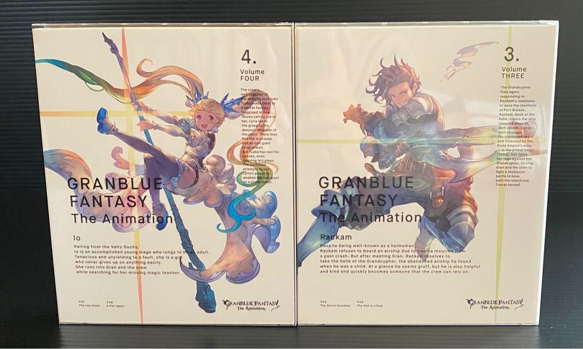 グランブルーファンタジー ブルーレイ 1-7 全巻 Blu-ray