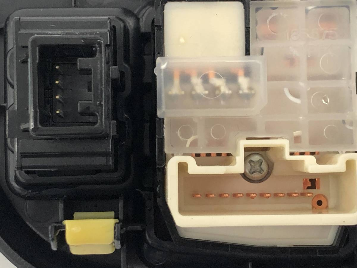 _b49753 トヨタ アクア S DAA-NHP10 プッシュスタート スイッチ ドアミラー レベライザー 光軸 トリム 内装 カバー FC28 55446-52120_画像5