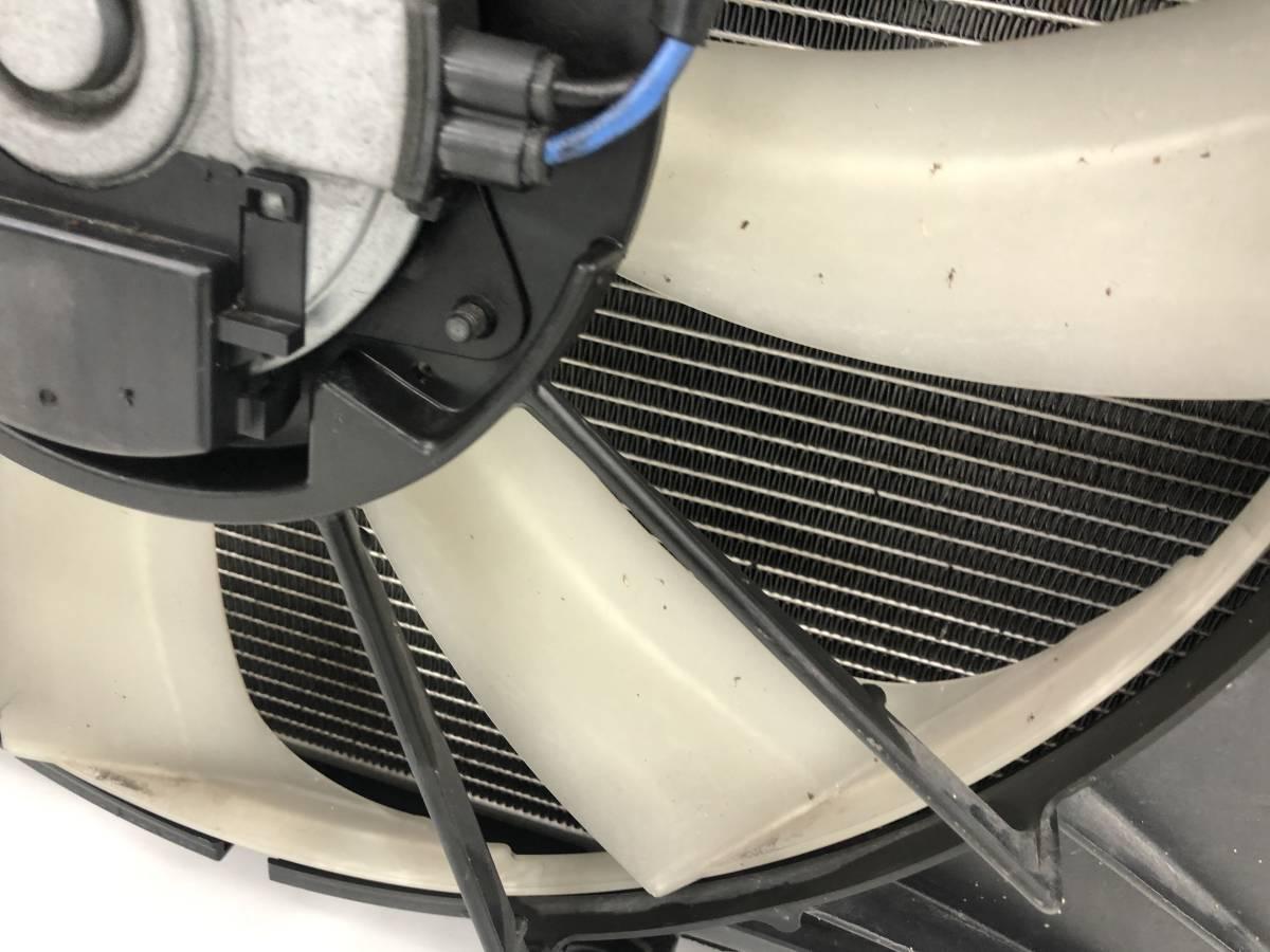 _b49753 トヨタ アクア S DAA-NHP10 ラジエター ラジエーター 電動ファン付き モーター 100222-2383 / 16363-21060 / 268000-5030_画像6