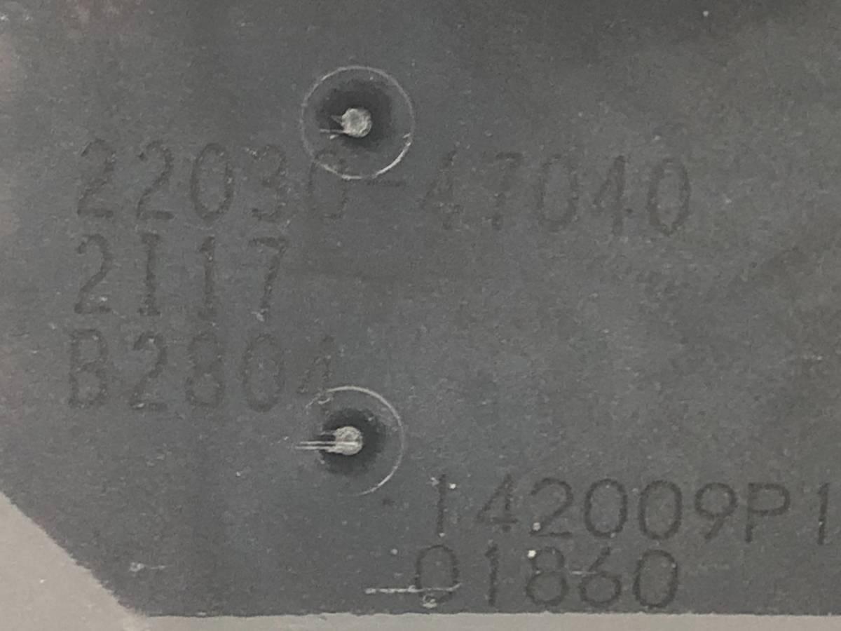 _b49753 トヨタ アクア S DAA-NHP10 スロットルボディ 1NZ-1LM 22030-47040_画像5