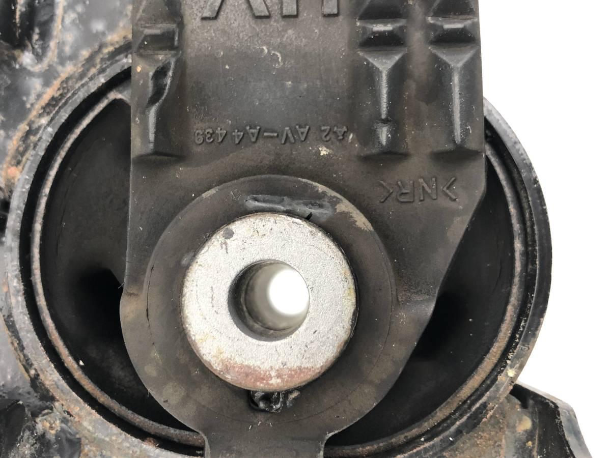 _b49753 トヨタ アクア S DAA-NHP10 エンジンマウント ブラケット 1NZ-1LM_画像4