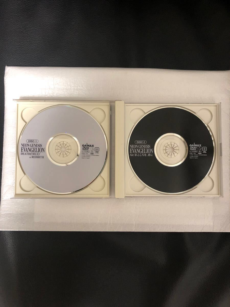 新世紀エヴァンゲリオン劇場版DVD 特典付