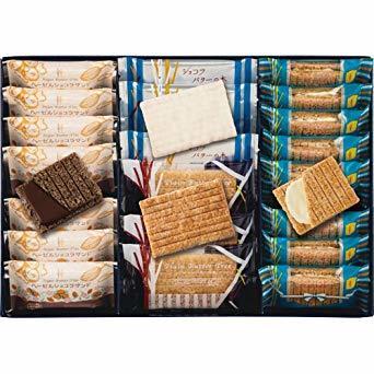 ◇■○お菓子 人気商品 シュガーバターの木 秋冬限定ヘーゼルショコラ入り 詰合せ 4種25袋入り(SB-CO)ラッピング済_画像1
