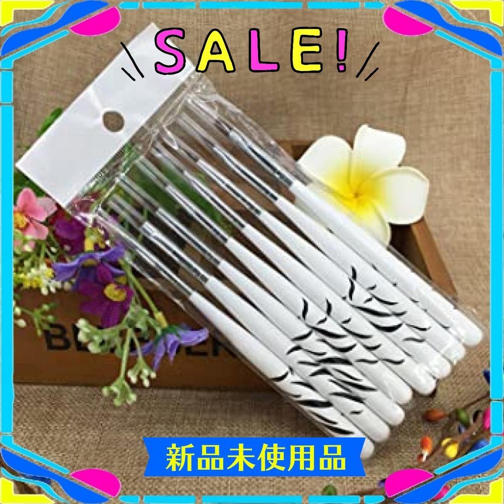 ネイルアート ブラシセット ネイル筆 ジェルネイルブラシ 8点セット 平筆 ネイルペン アクリル 画筆 UV用 ネイルツール_画像6