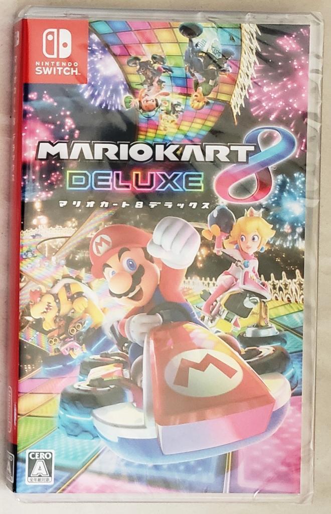 ☆新品 Nintendo switch マリオカート8 デラックス / ニンテンドースイッチ スウィッチ 任天堂 ゲーム ソフト マリカー