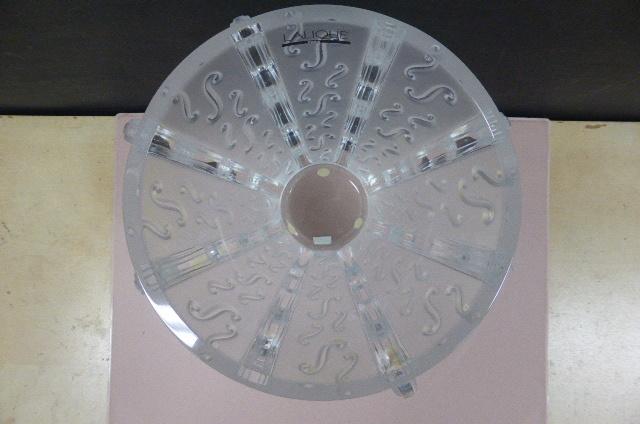 ★未使用保管品★ ラリック クリスタル  LALIQUE Crystal  フラワーベース 花瓶 花器 スウィング Swing 高さ18.5cm_画像4