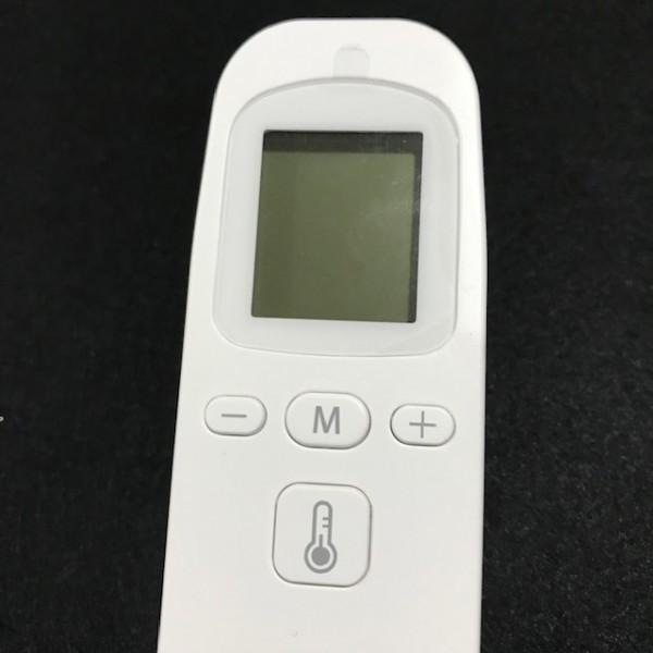 非接触体温計 液晶表示 1秒検温 会社大量注文承り 子供 大人 赤外線温度計 温度計 体温計 衛生 触れない 安全 ■ 新品_画像7