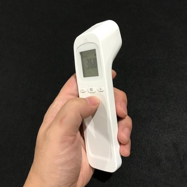 1秒検温 非接触体温計 液晶表示 子供 大人 赤外線温度計 温度計 体温計 衛生 触れない 安全 ■ 新品_画像1