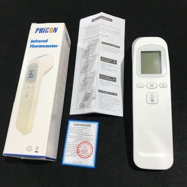 1秒検温 非接触体温計 液晶表示 子供 大人 赤外線温度計 温度計 体温計 衛生 触れない 安全 ■ 新品_画像2
