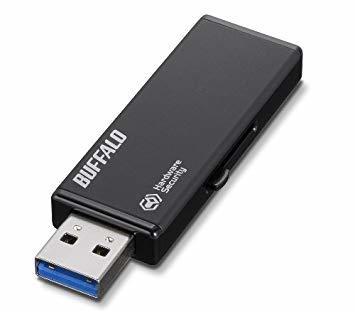 4GB BUFFALO 強制暗号化 USB3.0 セキュリティーUSBメモリー 4GB RUF3-HSL4G_画像6