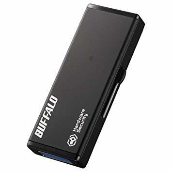 4GB BUFFALO 強制暗号化 USB3.0 セキュリティーUSBメモリー 4GB RUF3-HSL4G_画像1