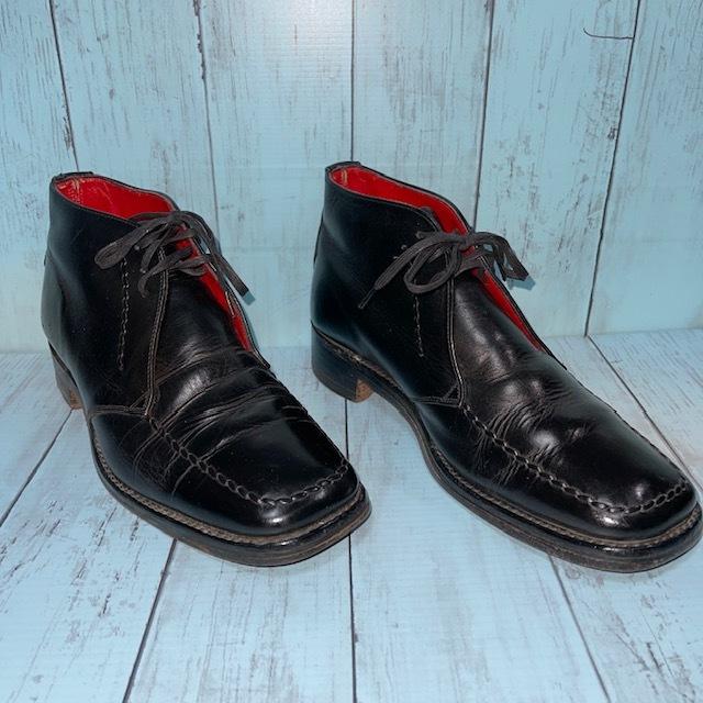 【即決/送料無料】ジェフリーウエスト JEFFERYーWEST Croaker UK8 黒色 ショートブーツ チャッカブーツ_画像2