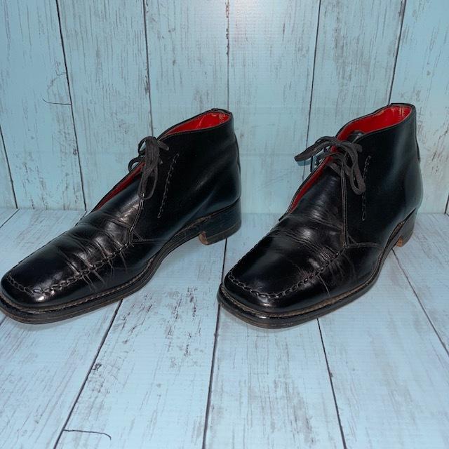 【即決/送料無料】ジェフリーウエスト JEFFERYーWEST Croaker UK8 黒色 ショートブーツ チャッカブーツ_画像3