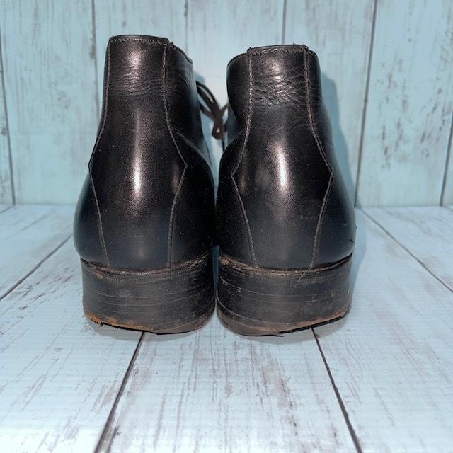 【即決/送料無料】ジェフリーウエスト JEFFERYーWEST Croaker UK8 黒色 ショートブーツ チャッカブーツ_画像4