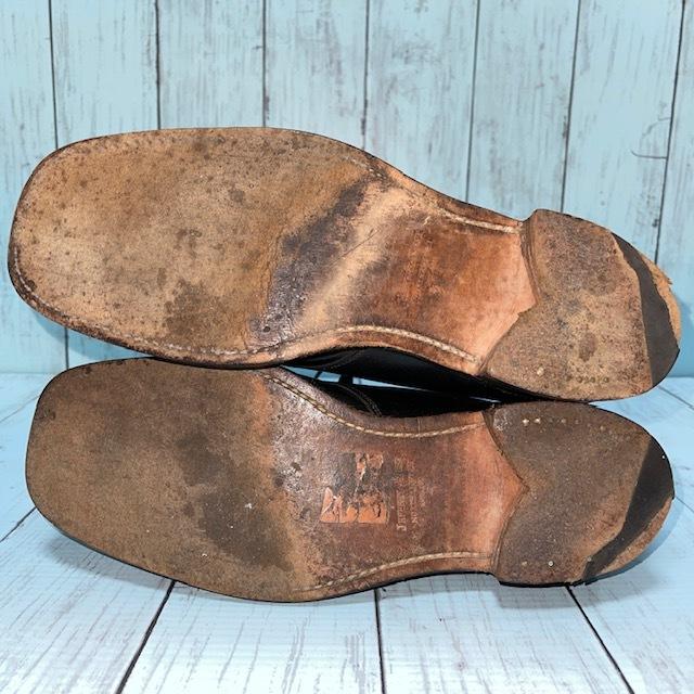 【即決/送料無料】ジェフリーウエスト JEFFERYーWEST Croaker UK8 黒色 ショートブーツ チャッカブーツ_画像5