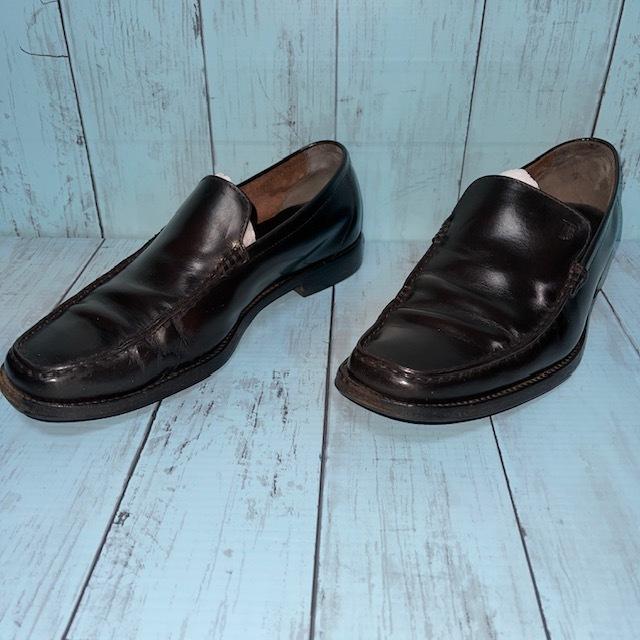 【即決/送料無料】トッズ TOD'S UK5 黒色 ローファー ドライビングシューズ スリッポン 革靴_画像2