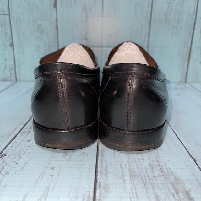 【即決/送料無料】トッズ TOD'S UK5 黒色 ローファー ドライビングシューズ スリッポン 革靴_画像4